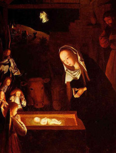 Nativity scene by Jans tot Sint Geertgen (1490)