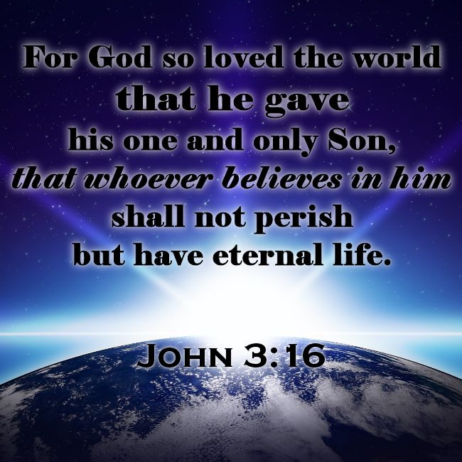 "John 3:16 – ""World"" Means All of Creation 